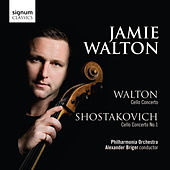 Walton Cello Concerto, Shostakovich Cello Concerto No.1 by Jamie Walton