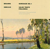 Johannes Brahms: Serenade No. 1 / Jeasn Sibelius: Valse triste / Finlandia (Dresden Philharmonic, Heinz Bongartz) by Various Artists