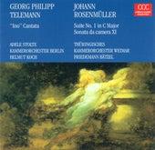 Georg Philipp Telemann: Ino / Johann Rosenmüller: Studenten-Music / Sonate da camera No. 9 (Koch) by Various Artists