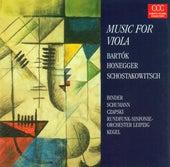 Béla Bartók: Viola Concerto, BB 128 / Arthur Honegger: Viola Sonata / Dmitri Schostakowitsch: Viola Sonata, Op. 147 (Davia Binder, Robert Schumann) by Various Artists