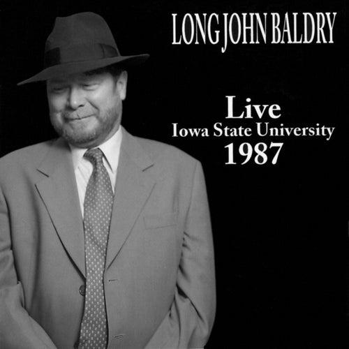 Live Iowa State University 1987 by Long John Baldry