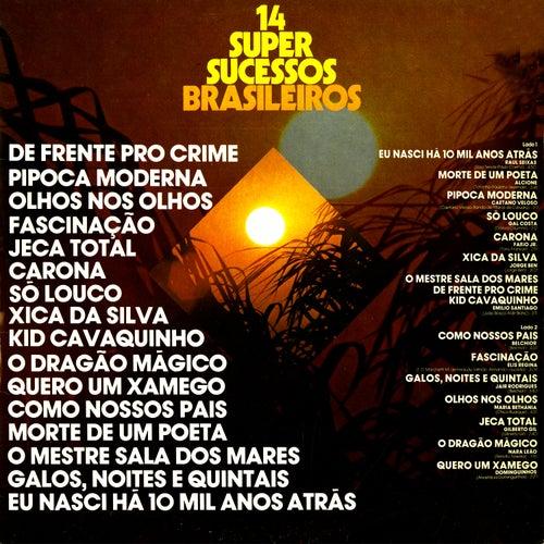 14 Super Sucessos Brasileiros by Various Artists