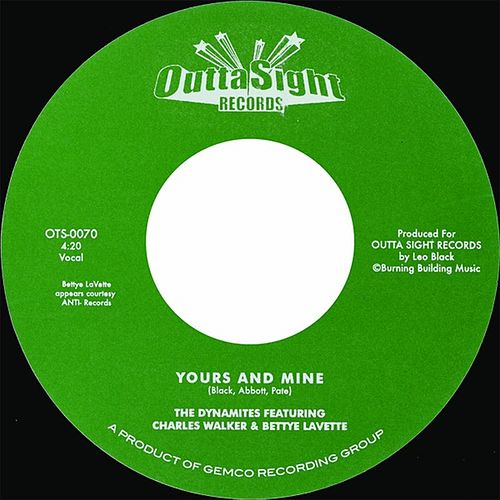Yours and Mine - Single by The Dynamites