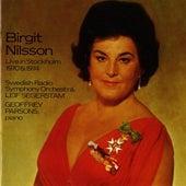 Birgit Nilsson Live in Stockholm (1970, 1973) by Birgit Nilsson