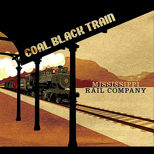 Coal Black Train by Mississippi Rail Company