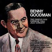 1938 Carnegie Hall Jazz Concert by Benny Goodman