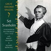 Great Swedish Singers: Set Svanholm (1943-1958) by Set Svanholm