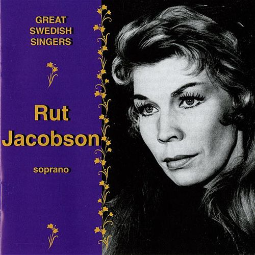 Great Swedish Singers: Ruth Jacobson (1959-1976) by Ruth Jacobson