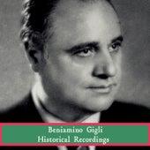 Historical Recordings by Beniamino Gigli