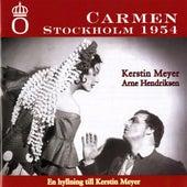 Bizet: Carmen (Stockholm, 1954) by Arne Hendriksen