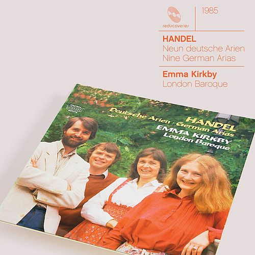 Handel 9 German Arias HWV 202-210 by Emma Kirkby