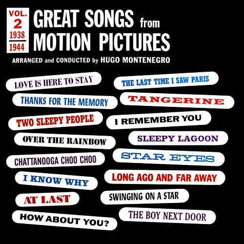 Great Songs From Motion Pictures by Hugo Montenegro