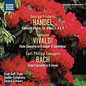 Handel: Concerti Grossi, Op. 6, Nos. 1, 6 & 9 - Bach: Flute Concerto, H. 425 by Various Artists