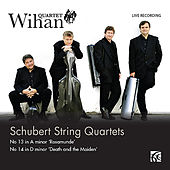 Schubert: String Quartets - 'Death & the Maiden' / 'Rosamunde' by Wihan Quartet