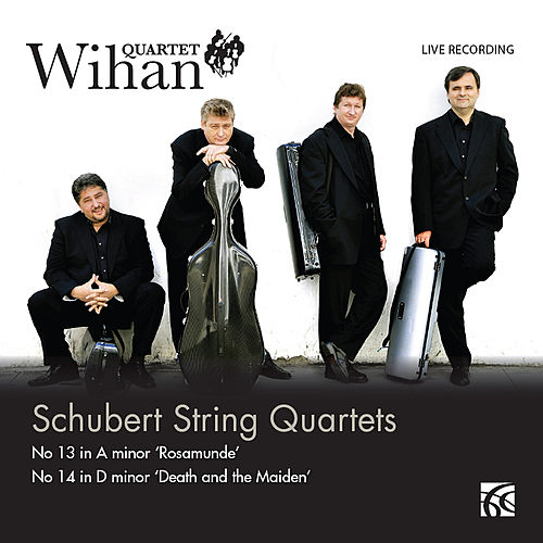 Schubert: String Quartets - 'Death & the Maiden' / 'Rosamunde' by Wihan Quartet