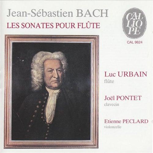 BACH: Sonates pour flûte von Luc Urbain