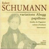 Schumann, Robert: Variations Abegg - Papillons - Etudes de Paganini - Scenes d'enfants - Intermezzi by Daniel Blumenthal