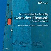 Mendelssohn: Geistliches Chorwerk by Various Artists