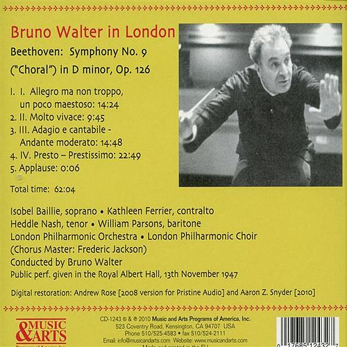 Bruno Walter Conducts Beethoven: Symphony No. 9 (1947) by Isobel Baillie