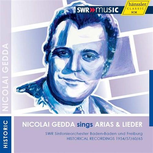 Nicolai Gedda sings Arias & Lieder by Nicolai Gedda