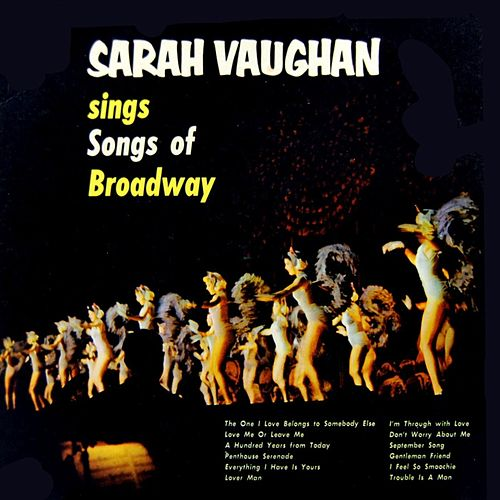 Sings Songs Of Broadway by Sarah Vaughan