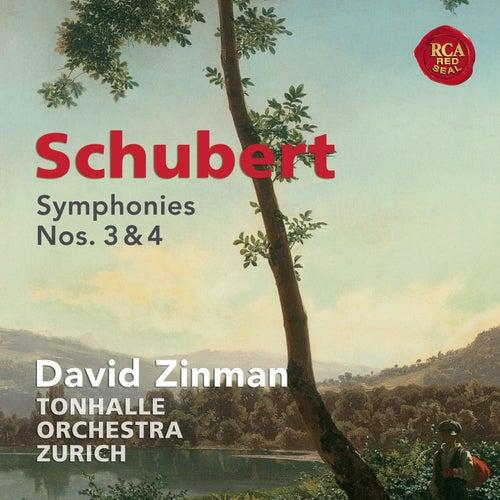 Schubert: Symphonies Nos. 3 & 4 by David Zinman