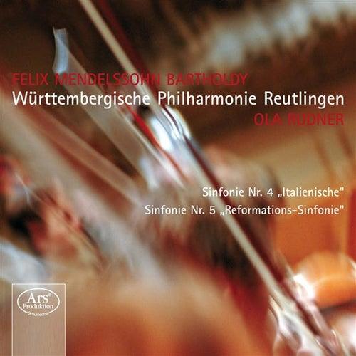 Mendelssohn: Symphonies n°4 et n°5 by Wurttembergische Philharmonie Reutlingen