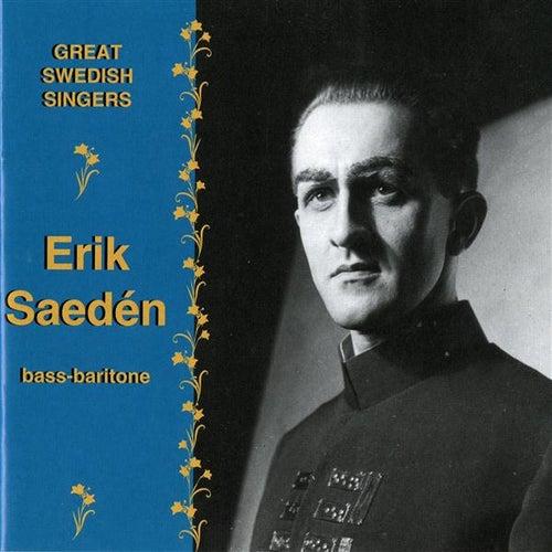 Great Swedish Singers: Erik Saeden by Erik Saeden