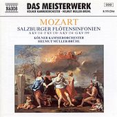 Mozart: Salzburg Flute Symphonies (Symphonies Nos. 14, 18, 21, and 27) by Cologne Chamber Orchestra