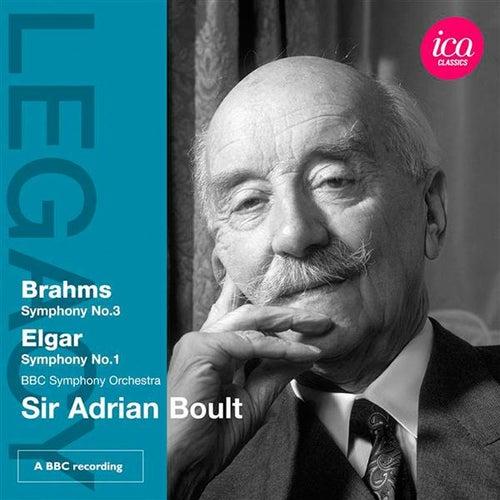 Brahms: Symphony No. 3 - Elgar: Symphony No. 1 by BBC Symphony Orchestra