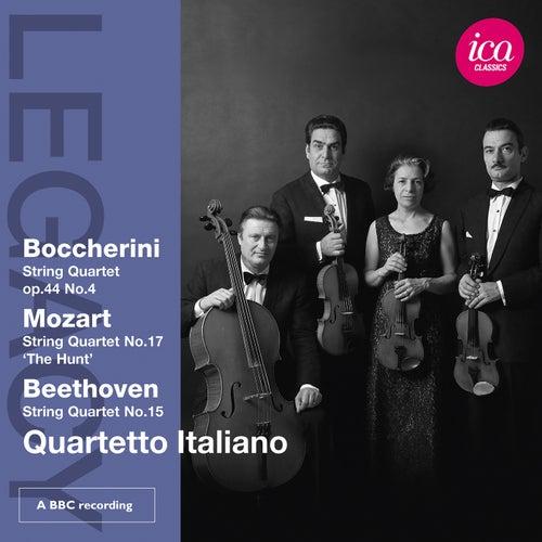 Boccherini, Mozart & Beethoven: String Quartets by Quartetto Italiano