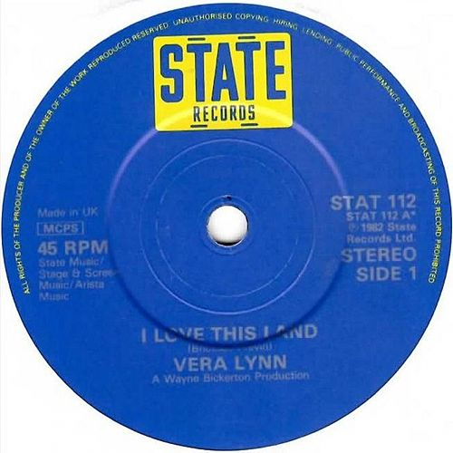 I Love This Land by Vera Lynn