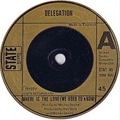 Where Is the Love (We Used to Know) by Delegation