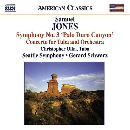 Jones, S.: Symphony No. 3, 'Palo Duro Canyon' / Tuba Concerto by Various Artists