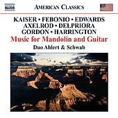 American Music For Mandolin And Guitar by Duo Ahlert and Schwab