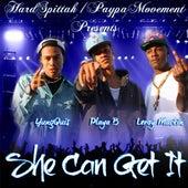 She Can Get It (feat. Playa B & Leroy Mackin) by YungQuis