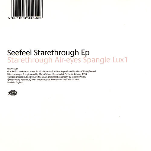 Starethrough EP by Seefeel