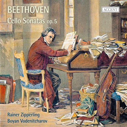 Beethoven: Cello Sonatas, Op. 5 by Rainer Zipperling