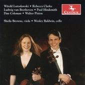 Lutoslawski: Bukoliki - Clarke: Lullaby and Grotesque - Piston: Duo by Sheila Browne