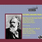 Historic Brahms Trios by Johannes Brahms