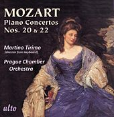 Mozart: Piano Concertos Nos. 20 & 22 by Martino Tirimo
