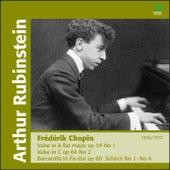 Chopin: Valses, Scherzi & Barcarolle by Arthur Rubinstein