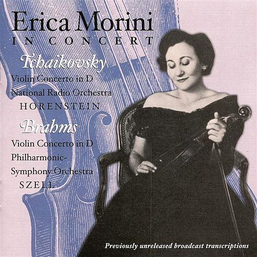 Erica Morini in Concert by Erika Morini
