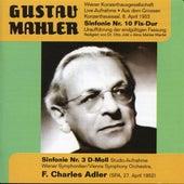 Mahler: Symphony No. 10 - Symphony No. 3 (1952) by Various Artists