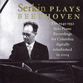 Rudolf Serkin plays Beethoven by Rudolf Serkin