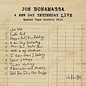 A New Day Yesterday Live by Joe Bonamassa