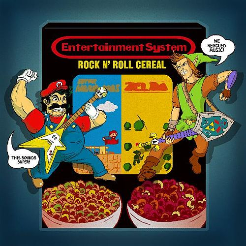 Rock n' Roll Cereal by Entertainment System