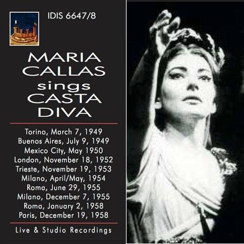 Maria Callas Sings Casta Diva by Maria Callas