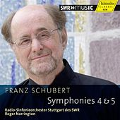 Schubert: Symphonies 4 & 5 by Stuttgart Radio Symphony Orchestra