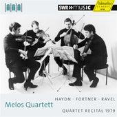Melos Quartett: Quartet Recital 1979 by Melos Quartet